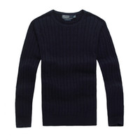 Wholesale xl pink clothing for sale - 2017 Good quality Brand Men sweater pullover clothing Autumn Winter Season sweatershirts in red yellow orange black etc color
