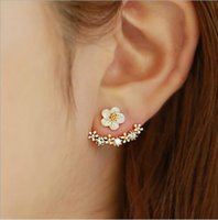 925 Sterling Silver Daisy Earrings Alta qualidade Anti Allergic Pure S925 Ear Clips Stud Jóias Daisy Flower Earrings for Women