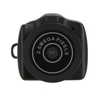 Wholesale Mini Dvr Digital Pocket - MINI Camcorder;Micro Smallest Portable Digital Camera HD CMOS 2.0 Mega Pixel Pocket Video Audio Mini Camcorder 480P DV DVR Recorder 720P