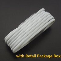 Wholesale Galaxy Note Box Packaging - 1M 3Ft Light Micro USB Sync Data Cable Cords Charger Line With Retail Box Package for Samsung Galaxy S4 S7 S6 Edge Note 4 5 6 7 HTC Phone