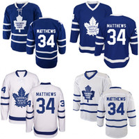 Wholesale Winter Season Boy - Youth Kids #34 Auston Matthews Jersey New Season Toronto Maple Leafs Winter Classic 100% Stitched Embroidery Logos Hockey Jerseys Wholesale