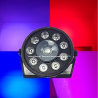 rgb par can al por mayor-La mini luz llevada del par / el par llevado puede realzar la iluminación 9pcs 3w RGB + 1pcs 30w Cree RGB 3in1