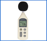 Wholesale WH1357 Noise meter noise tester DB meter dBA sound level meter environment detection A C FAST SLOW dB Software Digital noise meter