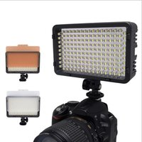 led camera light 126 achat en gros de-Éclairage Photographie Mcoplus 130 LED Video Light pour Canon Nikon Sony Panasonic Olympus Pentax caméra DV Comcorder VS CN-126