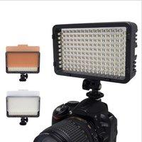 Wholesale Dv Video Light - Mcoplus 130 LED Video Photography Light Lighting for Canon Nikon Sony Panasonic Olympus Pentax & DV Camera Comcorder VS CN-126