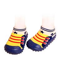 Wholesale Baby Socks For Boys - Kids Fashion First Walker With Rubber Soft Bottom Anti Slip baby socks for newborns Toddler children's socks