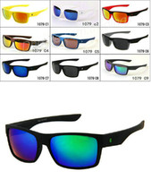 Wholesale Two Color Frame Glasses - MOQ=10PC brand new fashion men' s Bicycle Glass Outdoor Sport TWO FACE sunglasses Google Glasses mix color!