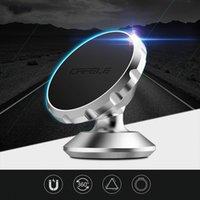 вращение магнита оптовых-DHL корабль оригинальный Универсальный магнитный держатель GPS автомобиля телефона 360 градусов вращения мини-автомобильный держатель телефона Магнит держатель для iPhone Samsung