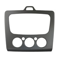 LEEWA Car Stereo Stereo Frame Dash Panel per Ford Focus MK2 (05 ~ 07) in MK2.5 (09 ~ 13) Stereo Conversion # 3091