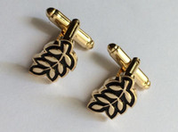 Wholesale 10 pairs leaf luxury cufflink for sale masonic designer cufflinks freemason cuff links for mens sleeve button hot sale