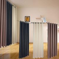 precio de modernas cortinas de la ventana del qaulity modernos de polister para