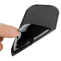 автомобильные панели оптовых-Оптовая продажа-красочные мощный Силиконовый автомобиль анти коврик магия нескользящей коврик для автомобиля стикер тире приборной панели липкие Pad для телефона GPS PDA #iCarmo