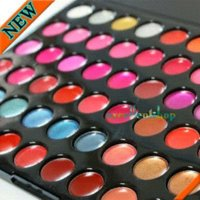 Wholesale Pro Makeup 66 Color - 66 Color Pro Lip Gloss Lipstick Cosmetic Makeup Palette Free shipping palette makeup palette cosmetics