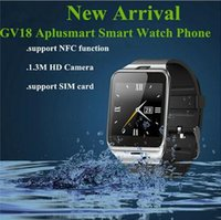 Оригинальные Bluetooth Smart Watch GV18 Aplus WristWatch для Samsung HTC LG Huawei Xiaomi Android Phone Smartphones 2016 Hot
