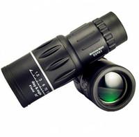 monoküler 16x52 toptan satış-Yeni Seyahat 16x52 Monoküler HD Teleskop Çift Odaklı Zoom Güçlü Monoküler Dürbün Kuş gözlemciliği Hediyeler Için Yüksek kez En Iyi