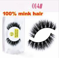 Wholesale long real human hair extensions resale online - NEW real mink eyelashes natural long thick false eyelashes fake lashes extensions handmade eyelashes