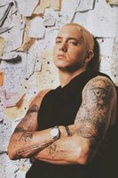 Eminem Posters Cantante Hot Art Silk Poster Prints