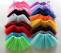 Wholesale Wholesale Adult Pettiskirt - Tutu Skirt Party Dresses Adults Women Girls Ballet Dancewear Mini Short Skirt Pettiskirt Performance dance Costume Ball Gown stage wear