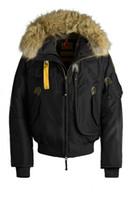 Wholesale Denim Coat Hoodie - -2018 Hot Sale Top Copy Parajumpers Gobi Down Jacket Men's Winter Parka With Hoodie Fur Arctic Coat Sale Cheap Outlet Factory