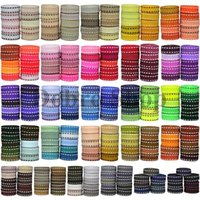 "Wholesale Grosgrain Stitched Ribbons - New 3 8"" 9mm 254 Colors Knitting Stitch Grosgrain Ribbon Diy Accessories Materials Decorate The Home Family Handmade"