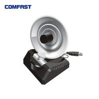 Wholesale Comfast Wifi Adapter - Wholesale- USB Wireless LAN Adapter 300Mbps 802.11n g b Radar WiFi Antenna Wireless signal receiver transmitter COMFAST CF-WU771N