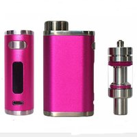 Wholesale Making Starter Kits - Eleaf iStick Pico TC 75W Starter Kit A Heaven-made Match of Tiniest Appearence Customized TCR with mini atomizer