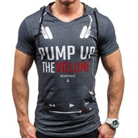 Wholesale Name Brands Clothing Wholesale - Wholesale-Camisetas hombre 2016 Brand - Name Clothing Letters Printed Tee T-Shirt Men Casual Cotton Short-Sleeved Tshirt Homme Compression