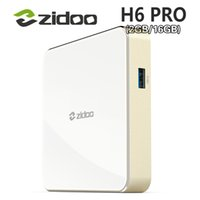 10pcs ZIDOO DDR4 H6 PRO Android 7.0 4K 10Bit HDR Allwinner H6 2GB 16GB 1000M LAN Dolby Digital DTS-HD Smartcolo Media Player