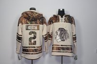 ... 2017 New Chicago Blackhawks Old Time Hockey Jerseys 2 Duncan Keith Camo Hoodie  Pullover Sweatshirts Sport ... a1649a176