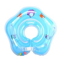 Venta al por mayor Natación Baby Toddler Accesorios Cuello Anillo Tubo Seguridad Infant Float Circle para bañarse inflable Dolphin Water Pool Fun Toy