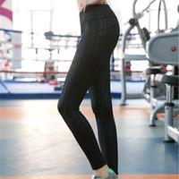 Wholesale Super Slimming Leggings - Mid Waist Womens Fitness Leggings Slim Print Midweight Flat Sweat Releasing Super Stretch Polyester Active Capris