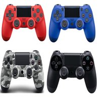 Controle sem fio Bluetooth PS4 para PS4 Vibração Joystick Gamepad PS4 Game Controller para Sony Play Station 4 8Colors