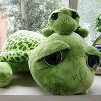 Wholesale Turtles Doll - 18-60cm Super Cute Turtle Tortoise Doll with Big Eyes Stitch Plush Toys Girls Kids Turtle Toy Gift For Children's Birthday