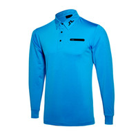 Wholesale Sports Full T Shirts - New brands fashionable JL Golf T-shirt Long-sleeved Autumn And Winter Casual T-shirt Golf wear 6 colors S-XXL size for Golf sport T-shirt