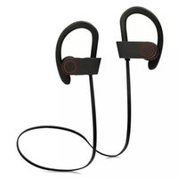 Wholesale Earphone Power - Q6 Wireless Bluetooth Headphones Stereo Bass Earphone Power Sound Sports Headsets HIFI Earphones Sweatproof Handsfree With Mic