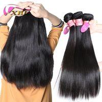 Wholesale One Bundle Malaysian Straight Hair - XBL Silky Straight Human Hair Extenision Malaysian Cheap Straight Human Hair Bundles 300 400G One Set