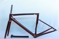 Wholesale Carbon Race Frame - 2018 NEW T1000 UD carbon frame bike cycling bicycle road racing frameset light weight size 44-58cm FMSL6