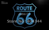 Wholesale Route 66 Neon - LB371-TM Historic Route 66 Mother Road Neon Light Sign NR Advertising
