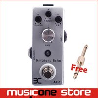 Wholesale Ex Micro - EX Micro Pedal AE-1 Ambient Echo Metal case mini pedal + Free Connector