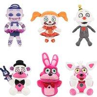 "Wholesale Freddy Doll - Hot New 6 Styles 7"" 18CM Five Nights at Freddy's Plush Ballora Circus Baby Ennard Bonnie Freddy Foxy Dolls Stuffed Best Gifts Soft Toys"