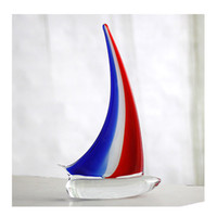 Wholesale Christmas Ornaments Personalize - Sailing ship ornaments clipper ship christmas ornaments personalized glass crafts model living room decorations ornaments