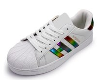 f2cc2d44c009 Scarpe sportive casual da donna stile classico scarpe da scarpa superstar scarpe  da donna basse luminose Scarpe laser taglia 36-44
