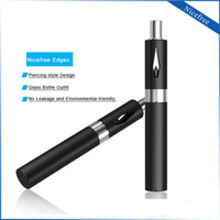 Wholesale Usb Clean - 510 E Cigarette Co2 thick Oil Cartridge Bud Nicefree Refillable Glass Bottle Clean Vape Battery USB Charger mod kit