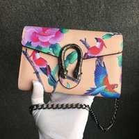 Wholesale Sequins Womens Fashion - Newest Casual Fashion Style High quality Womens 30CM Luxury Brand Leather Embroidery handbags Shoulder Bags totes purse Vintage bags