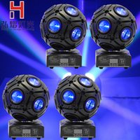 Atacado- Hongyi 4PCS 9x10W 4IN1 RGBW Led Futebol Moving Head Light Novo Design Hi-Quality Beam Moving Light com design exclusivo