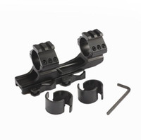 Wholesale Picatinny Rail Scope Mount Rings - 25.4mm 30mm Dual Ring Cantilever HeavyDuty Scope Mount Quick Release Picatinny Weaver Rail free shipping