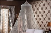 Wholesale Door Mosquito Netting - Summer Hot Selling ! Good Sleeping Graceful Elegant Bed Curtain Netting Canopy Mosquito Net