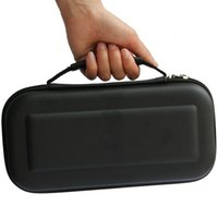Wholesale Hard Carrying Case Cover Pouch - Black EVA Travel Carrying Hard Bag Box For Nintendo Switch NS NX Protective Pouch Storage Cover Case High Quality FAST SHIPPING