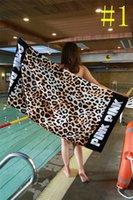 Wholesale Pink Bathrooms - Bath Beach Towel 147*71cm pink Sexy Secret Women Summer Fitness Sports Towels Bathroom Towels Mat Drying Washcloth Shower best hot