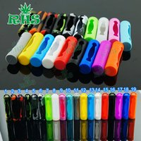 Wholesale E Cig Covers - Cheapest Silicone 18650 Battery Case protective colorful silicone 18650 battery sleeve cover for e cig 18650 battery